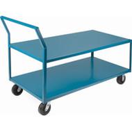 "ML102 HD Shelf Carts Low Profile30""Wx72""Dx41""H"