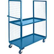 "ML167 2 sides/2 shelves 30""Wx72""Lx63'H"