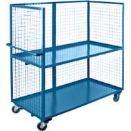 "ML198 3 sides/2 shelves 24""Wx60""Lx63'H"