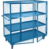 "ML257 Lockable3 shelves24""Wx48""Lx63""H"