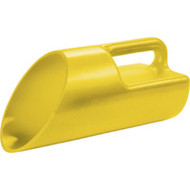 PE095 Sand/Salt Scoops 1-gal capYellow
