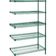 "RL663 EPOXY Shelving (ADD-ON/5 shelf) 36""Wx18""Dx74""H"