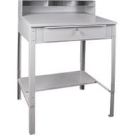 """FI519 Shop Desks open 34.5""""Wx30""""Dx53""""H"""