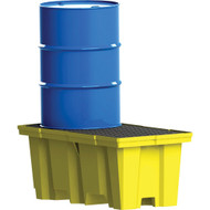 SEI787 Drum Spill Pallets Nest able With drain