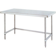 "FI389 Workbenches (SS/3-sided frame) 72""Wx30""Dx34""H"