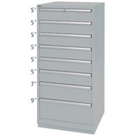 """FI140 88 compartments28.25""""Wx28.5""""Dx59.5""""H"""