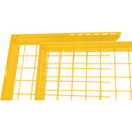 KH925 Adjustable Filler Panels YELLOW 8'Wx1'H