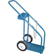 """ML416 Gas Cylinder Carts 10"""" semi-pneu 12""""Wx16""""D"""