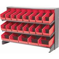 "CB321 Racks RED Bins 32-7/8""Wx12-1/8""Dx21.5""H"