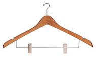 Mini-Hook Wooden Coat Hanger 231-711 - 8 Pack