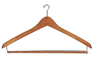 Mini-Hook Wooden Coat Hanger 231-710 - 8 Pack