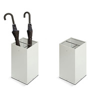 Painted Steel Square Divided Umbrella Stand - 238-103