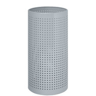 Perforated Steel Umbrella Bucket 262-224 - Silver