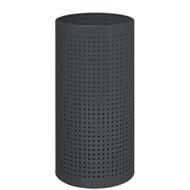 Perforated Steel Umbrella Bucket 262-225 - Black