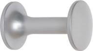 Aluminum Coat Knob 151-601 - Silver