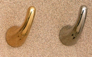 Brass Coat Hook 196-272 - Multiple Finish Options