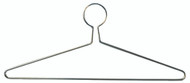 Steel Coat Hanger Closed Loop 151-701 - Chrome