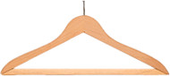 Ball Top Wooden Coat Hanger 231-706 - 8 Pack