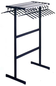 Double-Sided Standing Coat Rack with Hangers, Optional Umbrella Stand 232-012