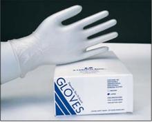 Lithco Shur-Fit Disposable Vinyl Gloves, Case (10 Boxes of 100 Gloves) Medium