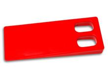 Pile Separator / Plastic Paper Wedge - Large, Pair (2 pcs)