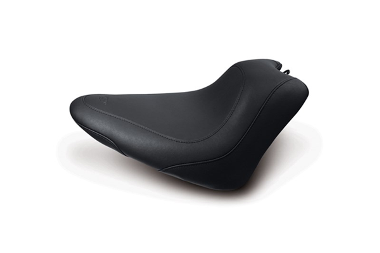 Mustang  Wide Tripper Solo Seat<br>for FXS Blackline & FLS Slim 2012-Up
