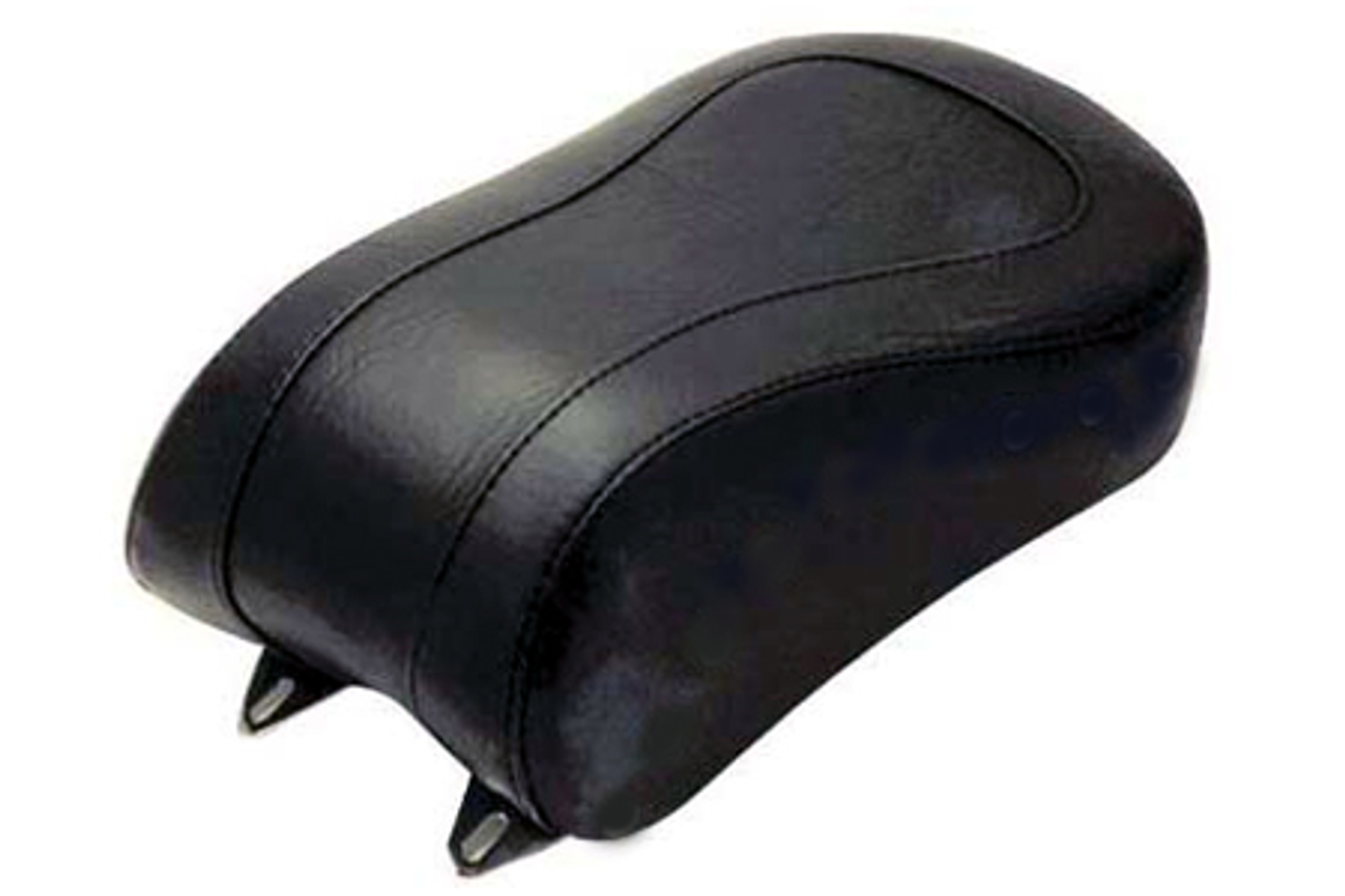 Mustang  Standard Rear Seat <BR> for Cross Bones FLSTSB '08-Up<br><b><font color=red>w/ 200mm Wide Tire</font></b><br>-Plain/Vintage