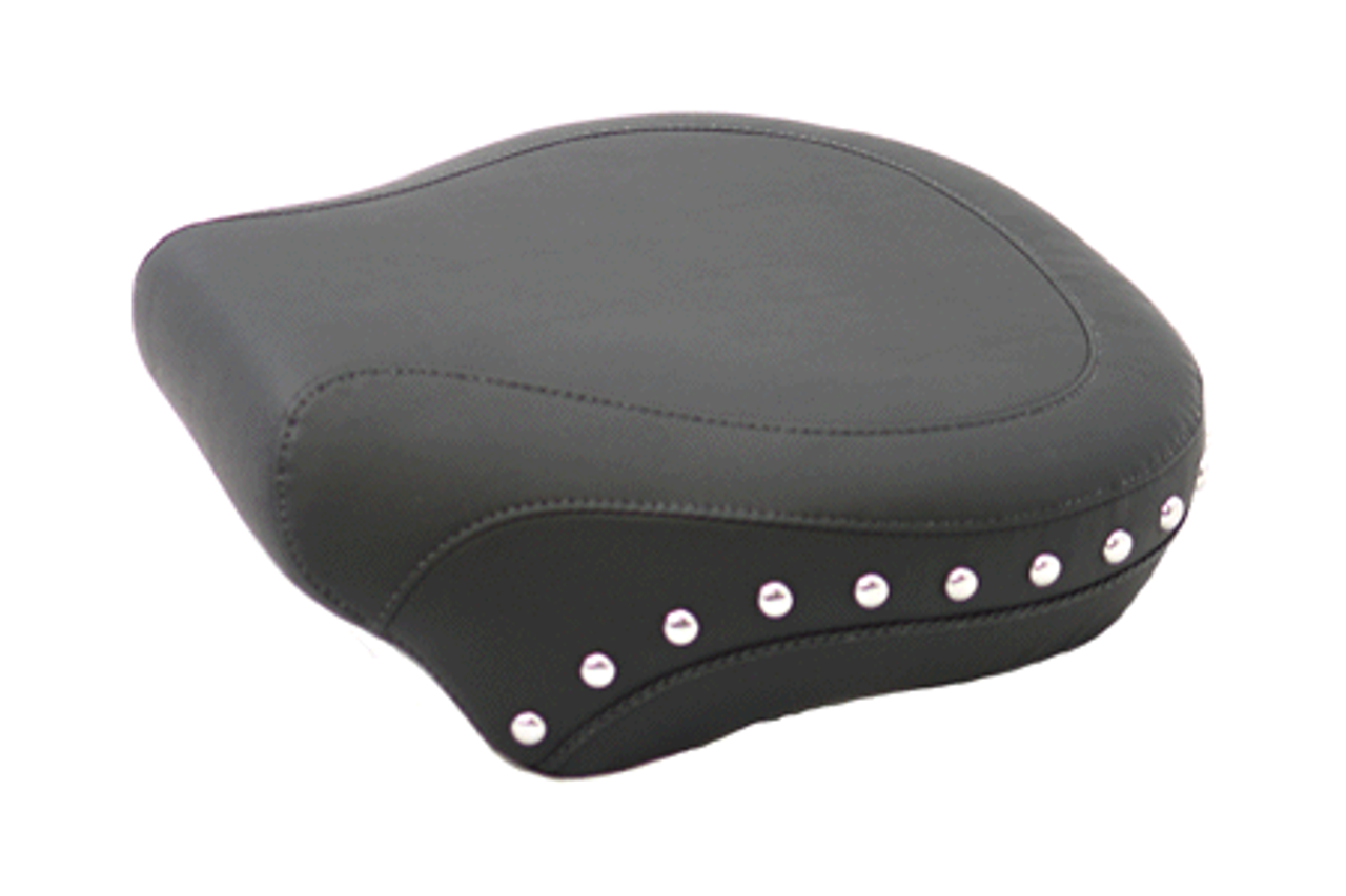 Mustang  Standard Rear Seat <BR>for all Softails '00-06<br><font color=red><b>WITH a 150mm Rear Tire</font></b><br>-Studded