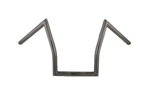 L.A. Choppers Outlaw Black Z-Bar Handlebars for HD Models