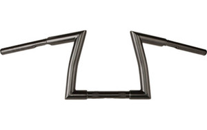 "Hard Drive 1.25""  Fat Z Handlebars for '82-Up H-D  -Black, 9"""