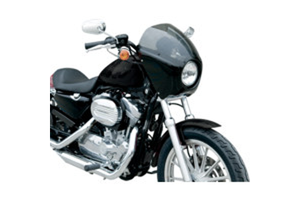 Arlen Ness Direct Bolt-On Fairings for '07-Up XL1200N Nightster Models -Gloss Black