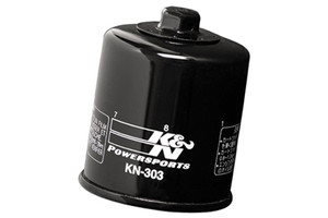 K & N Powersports Performance Gold Oil Filters Black KN-303 Click for Fitment