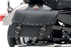 Saddlemen  Highwayman Slant-Style Saddlebags -Rivet Large