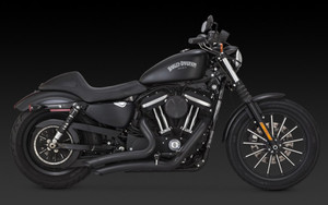 Vance & Hines  Big Radius 2-into-2 Exhaust for '14 & Up XL Models  -Black