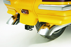 Show Chrome Exhaust Tips for GL1800 '01-11