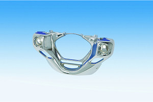 Show Chrome Front Lower Cowl for GL1800 '01-10 & '12
