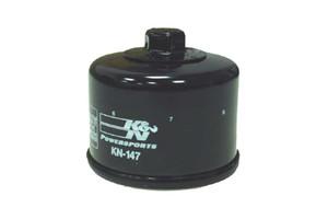 K & N Powersports Performance Gold Oil Filters for V-Star 1300/Tourer '07-Up Black KN-147