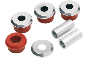 Alloy Art Heavy Duty Handlebar Riser Bushings for Touring models -Set of 4