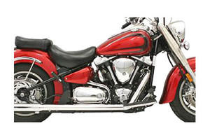 Bassani Power Curve True-DualCrossover Header Pipes for Road Star 1600-1700  '99-07 MUST USE BASSANI MUFFLERS (Click for Details)