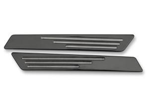 Drag Specialties Saddlebag Hinge Inserts for '14-15 FLHT/FLHR/FLHX/FLTRX Models -Black