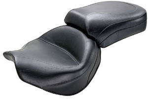 Mustang   Two-Piece Wide Touring Seat  for Vulcan 2000 '04-Up-Vintage