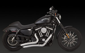 Vance & Hines  Big Radius 2-into-2 Exhaust for '14 & Up XL Models  -Chrome