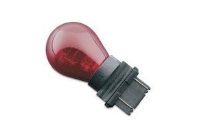 Kuryakyn Colored Turn Signal Bulbs Red-Replaces 3157