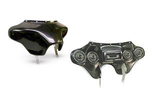Hoppe Industries Quadzilla Fairing w/ Stereo Receiver for VTX1800C/R/S '02-08