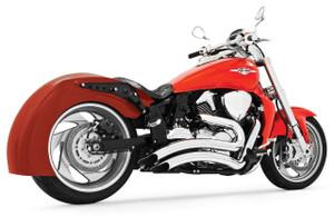Freedom Performance Sharp Curve Radius Exhaust for '06-Up M109R -Chrome