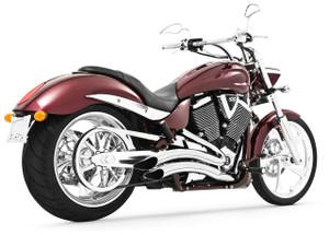 Freedom Performance Sharp Curve Radius Exhaust for '03-16 Jackpot/Hammer -Chrome
