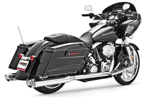 Freedom Performance Exhaust Racing Dual System for '95-16 FLH/FLT -Chrome with Chrome Tip