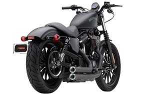 Cobra Speedster Exhaust w/ Powerport & Racepro Tips for '14 & Up XL -Black w/ Clear-Coated Aluminum Tips