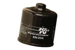 K & N Powersports Performance Gold Oil Filters Black KN-204 Click for Fitment