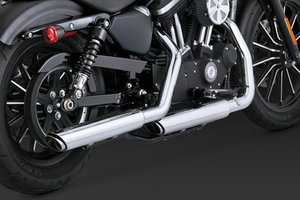 "Vance & Hines Twin Slash 3"" Slip Ons for '14-Up Sportsters"